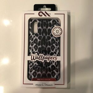 Casemate Grey Snow Leopard IPhone X XS Phone Case